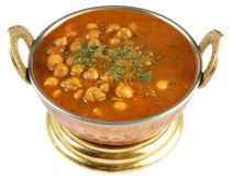 Chickpeas curry Royalty Free Stock Images
