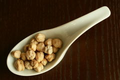 Chickpeas (Garbanzo beans) Stock Image