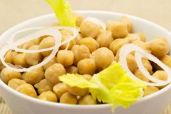 Chickpeas, legumes Stock Image