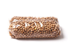 Chickpeas Packaged Stock Photography