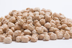 Chickpeas raw Royalty Free Stock Images