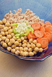 Chickpeas salad Royalty Free Stock Photos