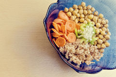 Chickpeas salad Stock Photography