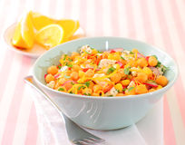 Chickpeas salad Royalty Free Stock Image
