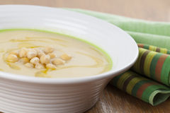 Chickpeas soup Stock Photography
