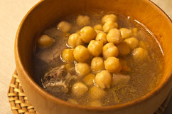 Chickpeas soup Stock Photos