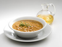 Chickpeas soup Stock Photo
