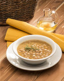 Chickpeas soup Royalty Free Stock Photography