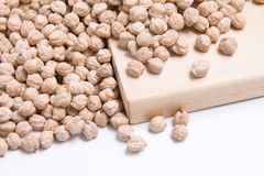 chickpeas surowi Obrazy Royalty Free