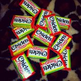 Chiclets gum Stock Photography