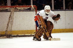 Chico Resch, New York Islanders. New York Islander goalie Chico Resch #1. (Image taken from slide Stock Photography