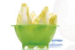 Chicory in plastic bowl Stock Photo