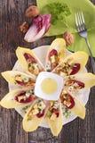 Chicory salad Stock Photography
