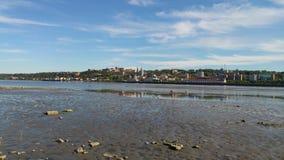 Chicoutimi do centro, Saguenay Fotos de Stock