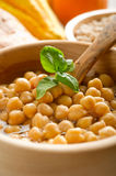 Chicpeas soup Royalty Free Stock Image
