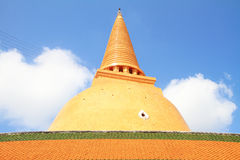 ChicPhraPathom Chedi Stock Photography