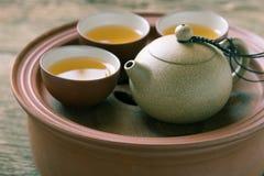 chińczycy postawił herbaty Zdjęcia Stock