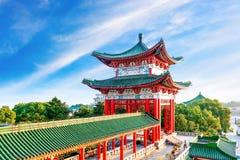 chińczycy starożytnym architektury Obrazy Royalty Free