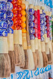Chińczyka muśnięcia pióro Obraz Royalty Free