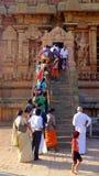 Chidambaram Shiva Temple Stockfotos