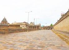 Chidambaram Tamil Nadu Индия массивнейшего древнего храма сложное Стоковое Изображение