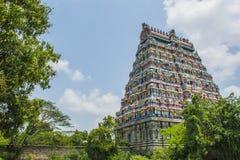 Chidambaram tempeltorn fotografering för bildbyråer