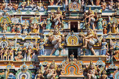 Chidambaram temple South India stock photo