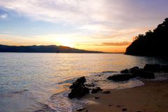 Chidiya Tapu: Andaman's Best Sunset Beach Stock Image