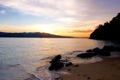 Chidiya Tapu: Andaman's Best Sunset Beach Stock Image
