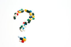 Chieda al medico Immagini Stock