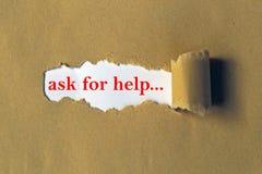 Chieda la direzione di aiuto immagine stock libera da diritti