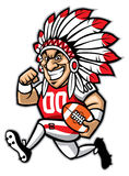 Chief american football mascot Stock Images