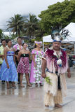 Chief on Cook Island Rarotonga Stock Photos
