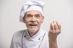 Chief cook Stock Photo