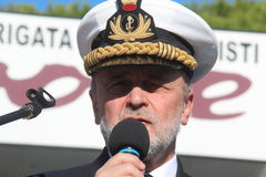 Chief of the Defence Staff Admiral Binelli Mantelli Stock Images