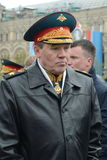 Chief of the General staff of the Russian Armed forces — first Deputy defense Minister, army General Valery Gerasimov. MOSCOW, RUSSIA - MAY 9, 2017:Chief of Royalty Free Stock Image