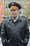 Chief of the General staff of the Russian Armed forces — first Deputy defense Minister, army General Valery Gerasimov. MOSCOW, RUSSIA - MAY 9, 2017:Chief of Stock Photo