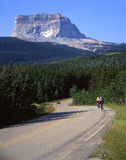 Chief Mountain. In Glacier National Park, montana Royalty Free Stock Photography