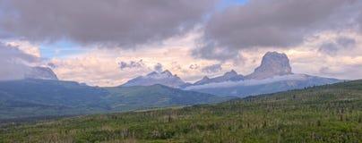 Chief Mountain Panorama Stock Image