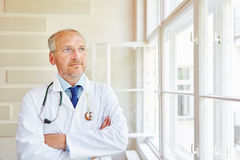 Chief physician as successful authority Royalty Free Stock Photo