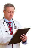 Chief physician treatment Stock Images