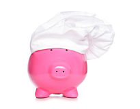 Chief piggy bank Royalty Free Stock Images