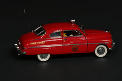 Chief's Car. Fire chief car Royalty Free Stock Photography
