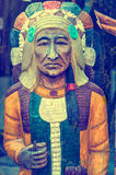 Chief, vintage style Royalty Free Stock Photography