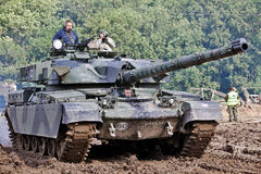 Chieftain tank Stock Photo