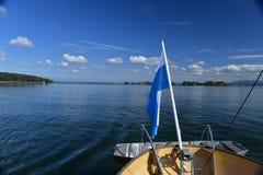 Chiemsee, Bavaria, Germany. Beautiful sunny day. Stock Image