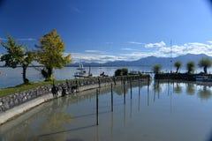 Chiemsee, Bavaria, Germany. Beautiful sunny day. Stock Photo