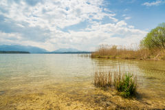 Chiemsee idilliaco Fotografia Stock