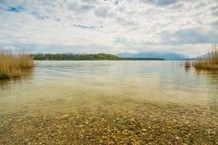 Chiemsee idilliaco Fotografia Stock Libera da Diritti