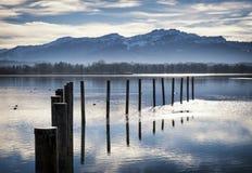 Chiemsee lake Royalty Free Stock Images